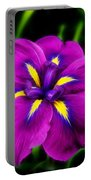 Iris Flower Portable Battery Charger