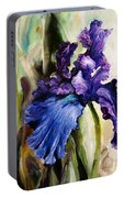 Iris In Bloom 2 Portable Battery Charger
