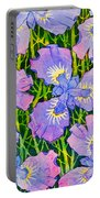 Iris Patterns Portable Battery Charger