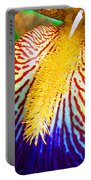 Iris Petal By Jan Marvin Portable Battery Charger