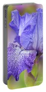 Iris Purple Pepper Portable Battery Charger