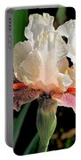 Iris White To Pink Portable Battery Charger