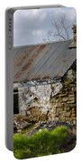 Irish Cottage Ruins Portable Battery Charger