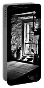Irish Cottage Window Portable Battery Charger