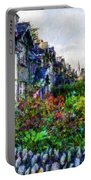 Irish Garden Water Color Portable Battery Charger