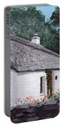 Irish Thatched Cottage Portable Battery Charger