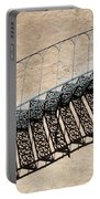 Iron Stairs Shadow Portable Battery Charger