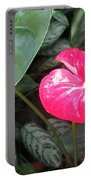 Island Flower Portable Battery Charger