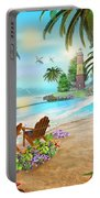 Island Of Palms Portable Battery Charger