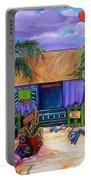 Island Time Portable Battery Charger by Patti Schermerhorn