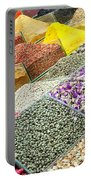Istanbul Egyptian Spice Market 01 Portable Battery Charger by Antony McAulay