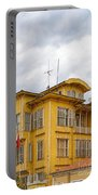 Istanbul Wooden Houses 04 Portable Battery Charger
