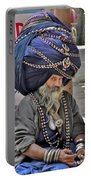 Its All In The Head - Rishikesh India Portable Battery Charger