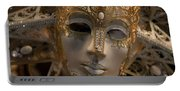 Italian Carnival Female Mask Portable Battery Charger