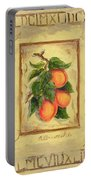 Italian Fruit Apricots Portable Battery Charger by Marilyn Dunlap