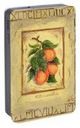 Italian Fruit Apricots Portable Battery Charger