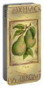 Italian Fruit Pears Portable Battery Charger