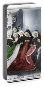 Italian Nuns Portable Battery Charger