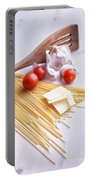 Italian Pasta Meal Portable Battery Charger