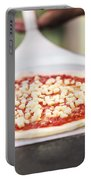 Italian Pizza Ready For The Oven Portable Battery Charger