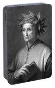 Italian Poet Dante Alighieri Portable Battery Charger