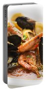 Italian Seafood Stew Portable Battery Charger