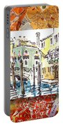 Italy Sketches Venice Canale Portable Battery Charger