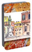 Italy Sketches Venice Piazza Portable Battery Charger