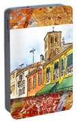 Italy Sketches Venice Via Nuova Portable Battery Charger