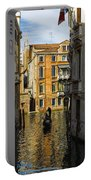 Italy, Venice, Rowing Gondola Portable Battery Charger