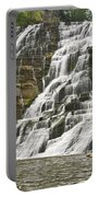 Ithaca Falls Portable Battery Charger by Anthony Sacco