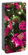 It's A Pink Christmas Portable Battery Charger