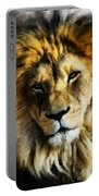 Its Good To Be King Portrait Illustration Portable Battery Charger