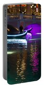 It's Not Venice - Brilliant Lights Glamorous Gondolas And The Magic Of Las Vegas At Night Portable Battery Charger