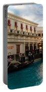 It's Not Venice - Gondoliers On The Grand Canal Portable Battery Charger