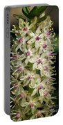 Ivory  And Amethyst Tower Portable Battery Charger