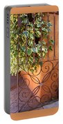 Ivy And Old Iron Gate Portable Battery Charger