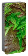 Ivy Wrapped Tree Trunk Portable Battery Charger