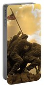 Iwo Jima Memorialized Portable Battery Charger