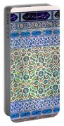 Iznik Ceramics With Floral Design Portable Battery Charger