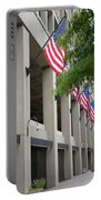 J Edgar Hioover Fbi Building Portable Battery Charger