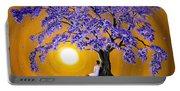 Jacaranda Sunset Meditation Portable Battery Charger