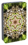 Jack In The Pulpit Mandala Portable Battery Charger