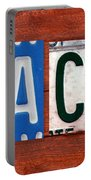 Jack License Plate Name Sign Fun Kid Room Decor Portable Battery Charger