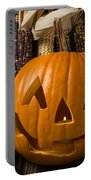 Jack-o-lantern And Indian Corn  Portable Battery Charger