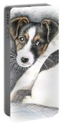 Jack Russell Puppy Portable Battery Charger