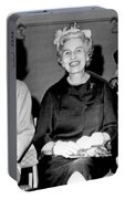 Jackie Kennedy At Luncheon Portable Battery Charger