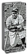 Jackie Robinson Painting Portable Battery Charger