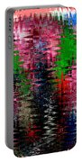 Jacks And Marbles Abstract Portable Battery Charger