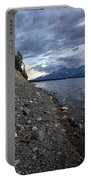 Jackson Lake Shore With Grand Tetons Portable Battery Charger